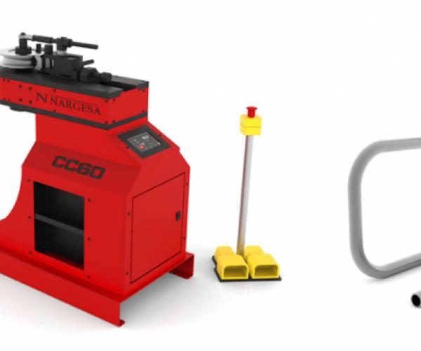 Тръбен Огъвач без дорник модел  CC60 CNC
