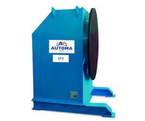 Ротационни позиционери за заваряване от  500 до 1500 кг SPV Серия