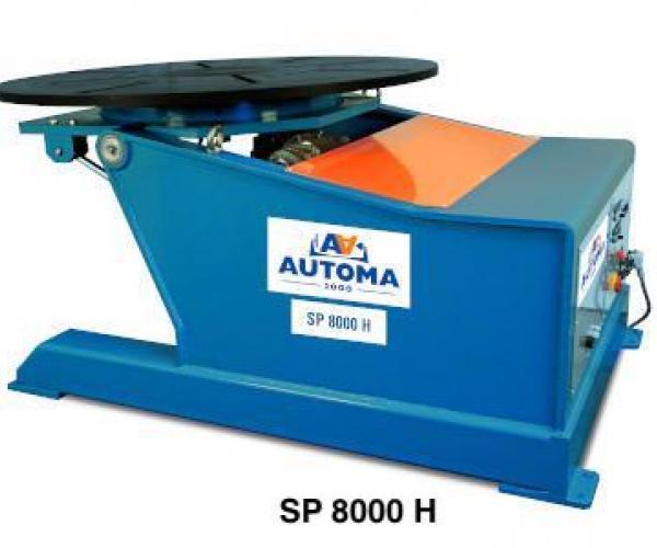 Ротационни позиционери за заваряне от 500 до 800 кг - SP Серия