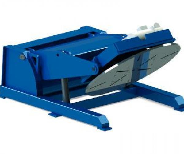Ротационни позиционери за заваряване от 1500 до 7000 кг SPK Серия