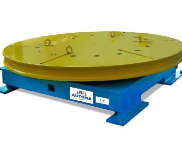 Ротационни позиционери за заваряване от 500 до 5000 кг SPP Серия